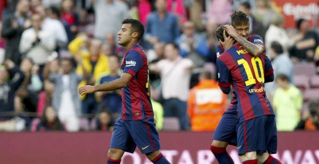 Afbeelding: Weer ongelooflijke galavoorstelling Barça: hattrick Suarez, tweemaal Messi