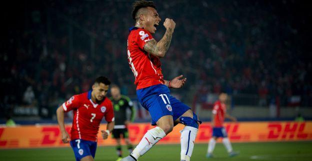 Speler van Napoli schiet Chili met wonderdoelpunt naar finale Copa