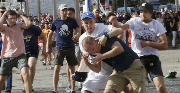 Russische Hooligans Video