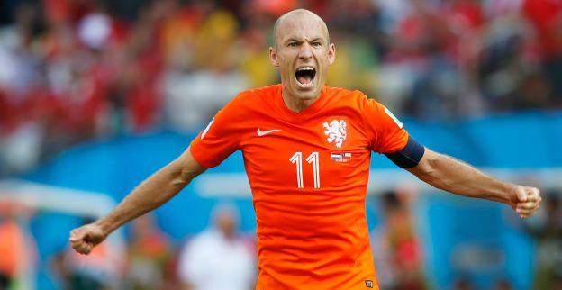 Lofzang voor Robben: Ik zou hem met geen andere speler willen ruilen