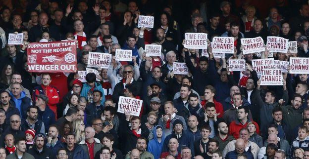 Arsenal legt bal voor Champions League weer bij City na 'protestwedstrijd'
