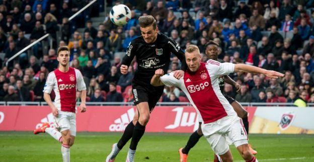 Consequenties zichtbaar bij Ajax: Om te zien of je weer op je bek gaat