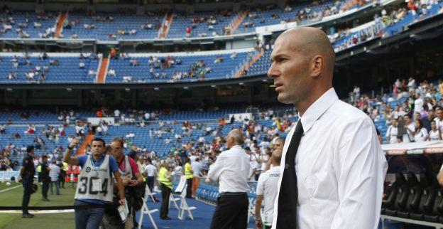 Zidane op Real Madrid-bank bij officieel profdebuut van oudste zoon