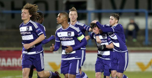 Jongeren Anderlecht starten prestigieus toernooi met puntendeling