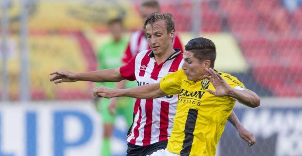 Afbeelding: 'Transfer van Ritzmaier afgeketst: PSV moet middenvelder elders slijten'