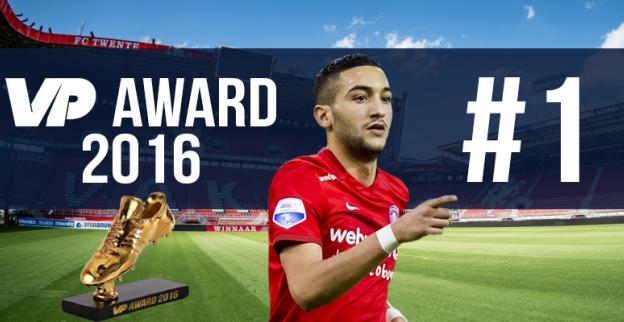 VP Award 2016: Beste speler van de Eredivisie staat op eenzame hoogte