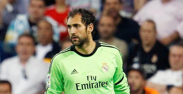 Hij gaat de trainers eens te meer overtuigen dat hij dé keeper van Real Madrid is