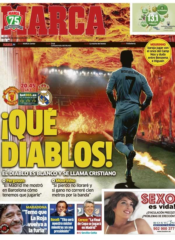 Opnieuw fraaie cover Marca