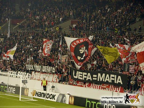 Stuttgart-fans hekelen UEFA