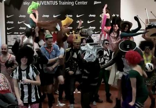 Harlem Shake bij Juventus