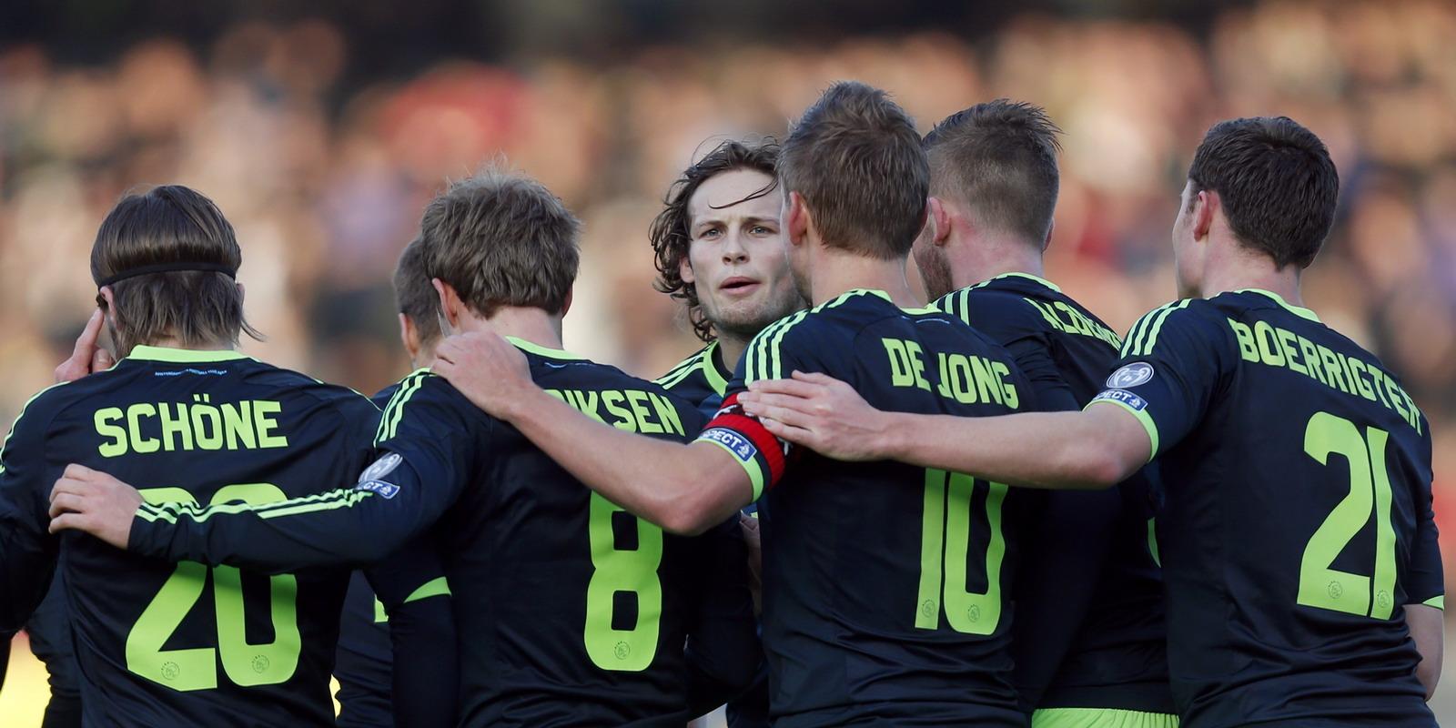 Ajax op één dag tegen RKC en De Graafschap